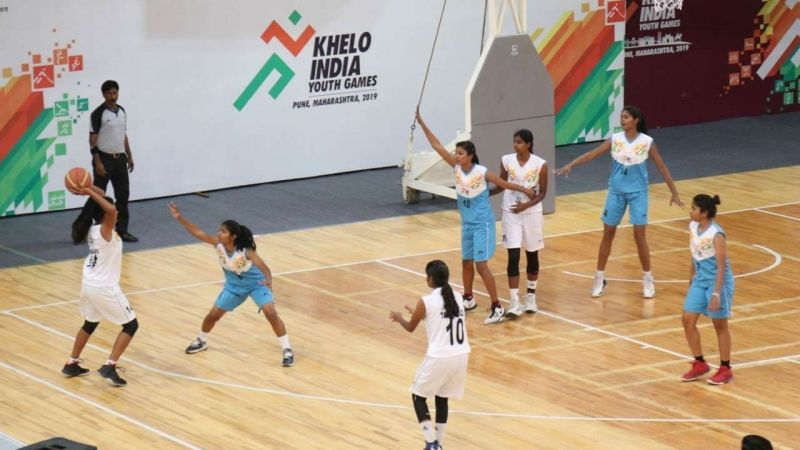The basketball competition will begin at the Khelo India Youth Games 2020 on Thursday, 16th January
