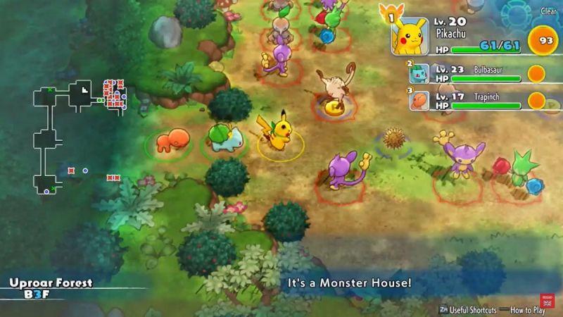 A sneak peek at the Nintendo Switch Pokemon Mystery Dungeons