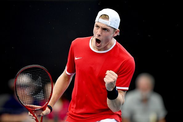 Denis Shapovalov is coming off of a successful campaign at the ATP Cup.