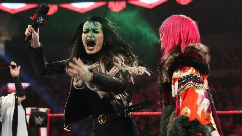 Paige would be on the receiving end of the green mist!