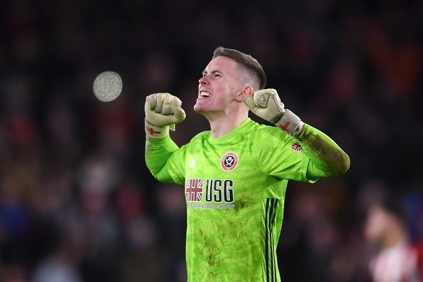 Dean Henderson is currently leading the race for the Premier League Golden Glove award