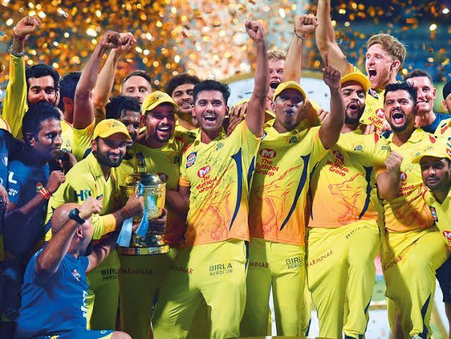 CSK picked up only 4 players at the auction
