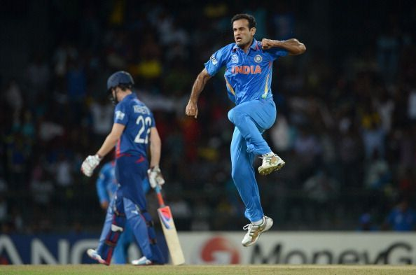 Celebrations like this were one of the features of Irfan Pathan