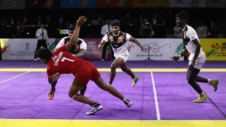 Khelo India Youth Games - Kabaddi
