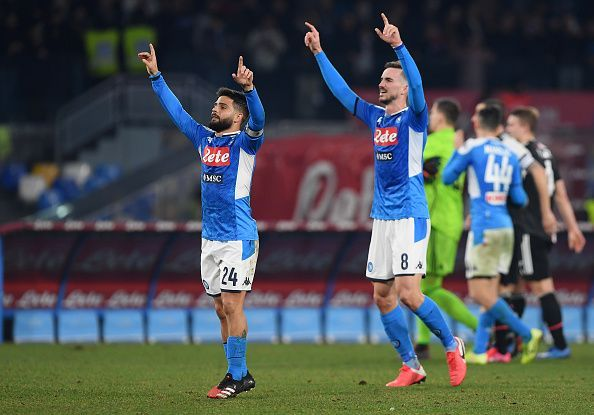 An unlikely win for Napoli over Juventus