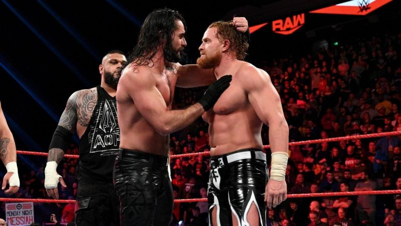 Buddy Murphy and Seth Rollins