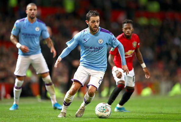 Bernardo Silva: Man of the match in the derby