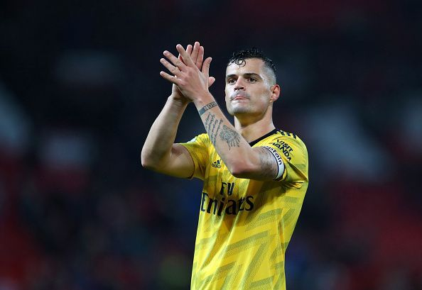 Granit Xhaka was previously linked with a move to Hertha Berlin