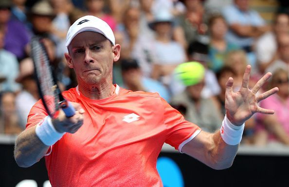 Kevin Anderson is back from an injury break, playing his first tournament in six months.