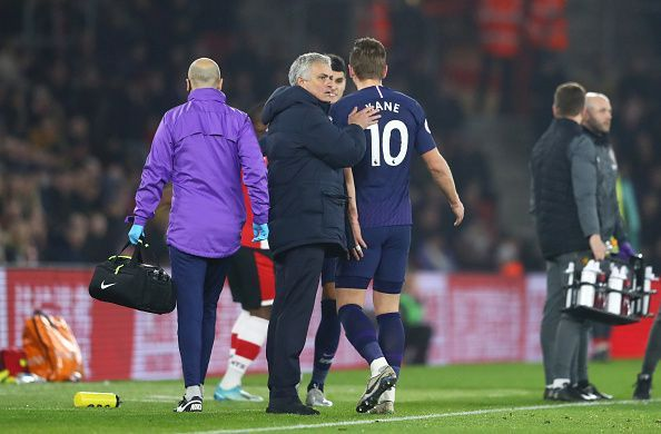 Kane suffered an unfortunate injury in Spurs