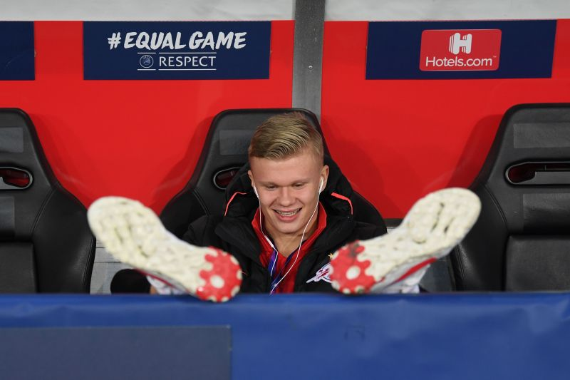 Erling Haaland has the football world at his feet