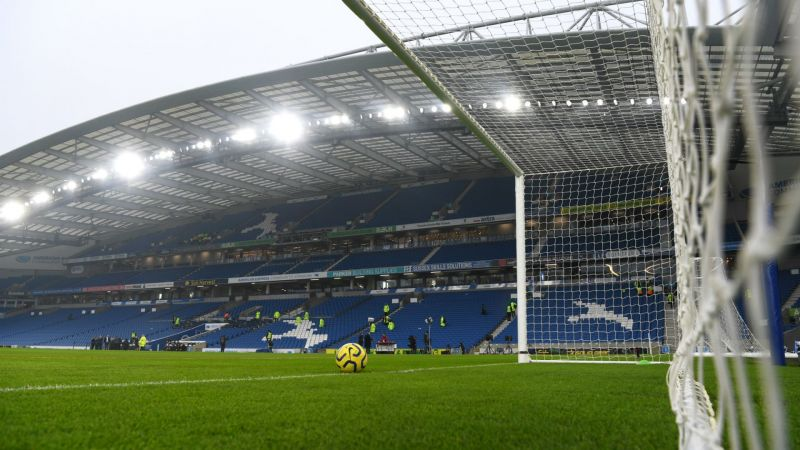 The Amex Stadium, home of Brighton and Hove Albion