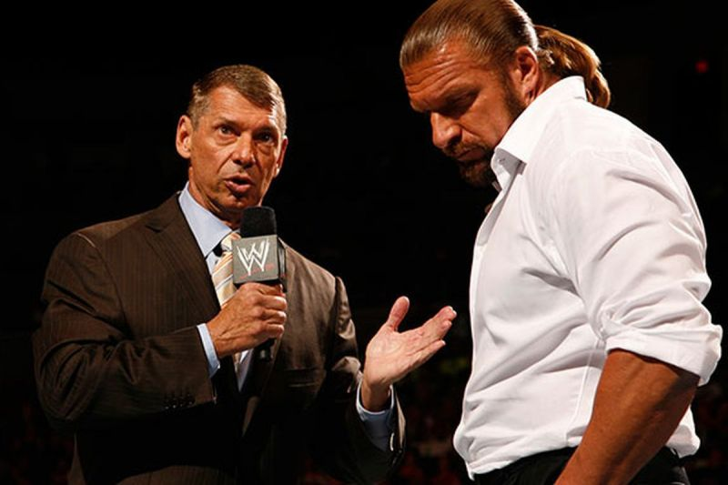 Vince McMahon and Triple H