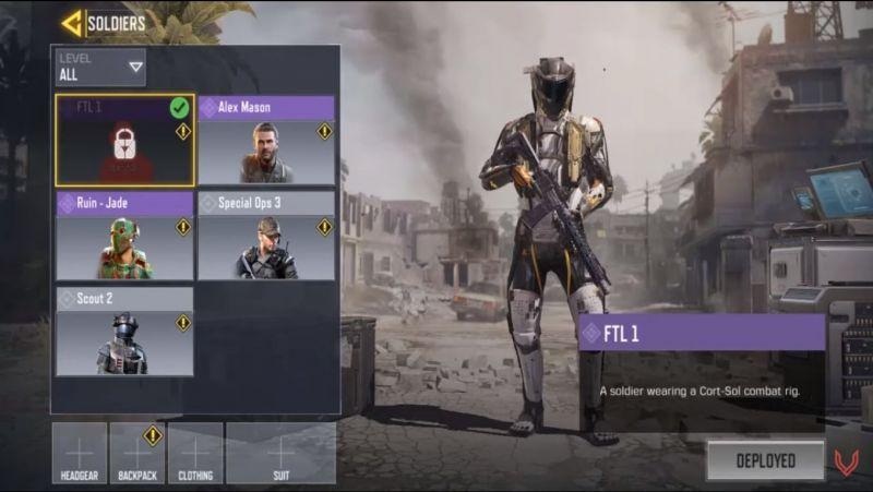 FTL-1 Character