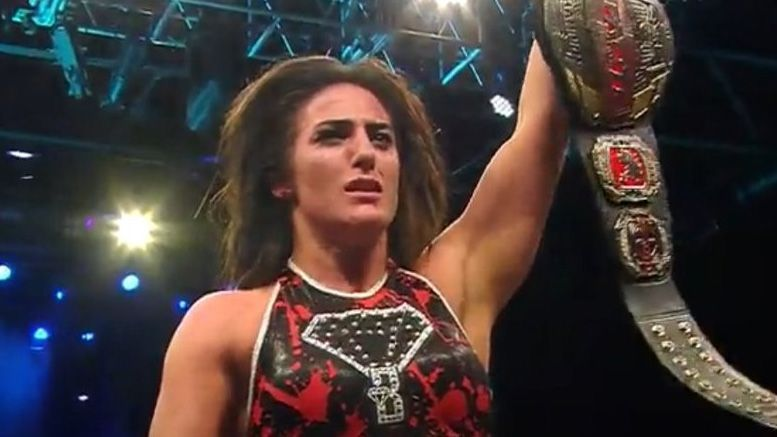 Tessa Blanchard wins the World title