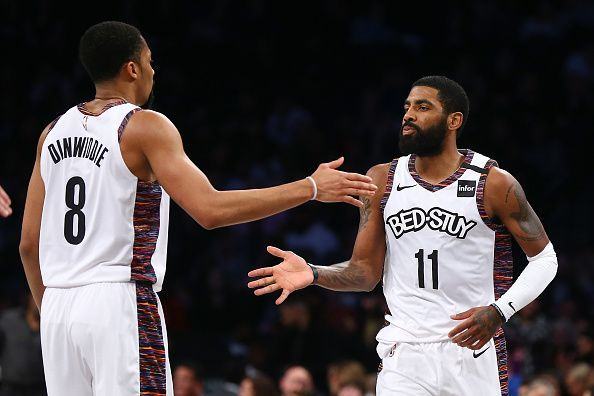 Kyrie Irving and the Brooklyn Nets host the Utah Jazz