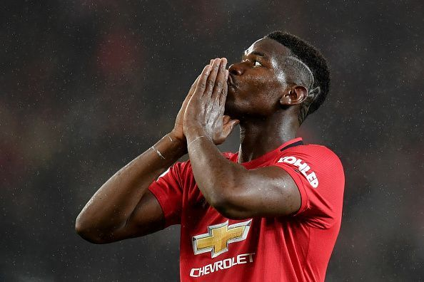 Paul Pogba is tipped to join Real Madrid in the summer.
