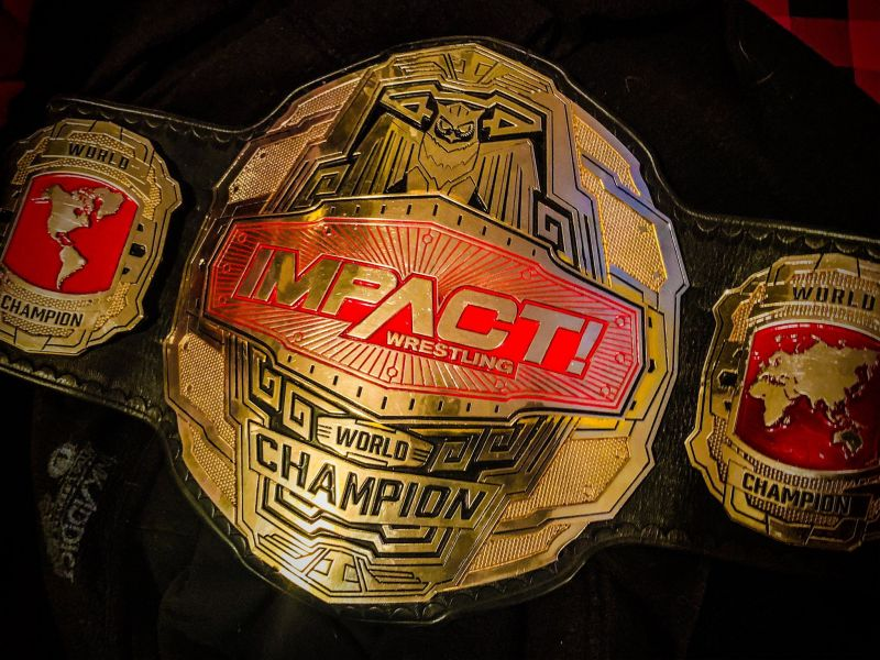 The new Impact Wrestling World title