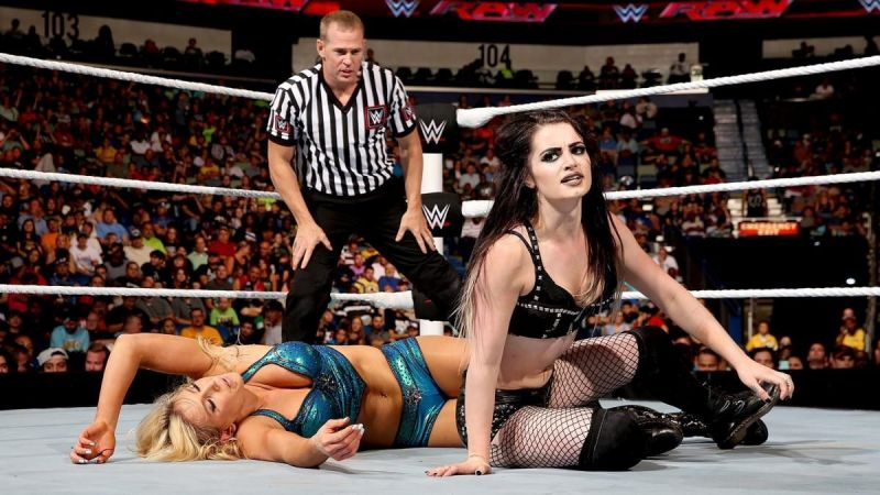 Paige and Charlotte have had a storied rivalry
