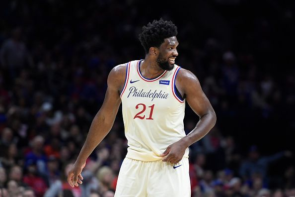Joel Embiid and the Philadelphia 76ers take on the Oklahoma City Thunder
