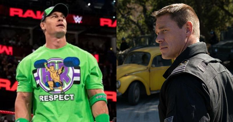 Cena says one needs to be committed to either career full time (Pic source: WWE/IMDB)