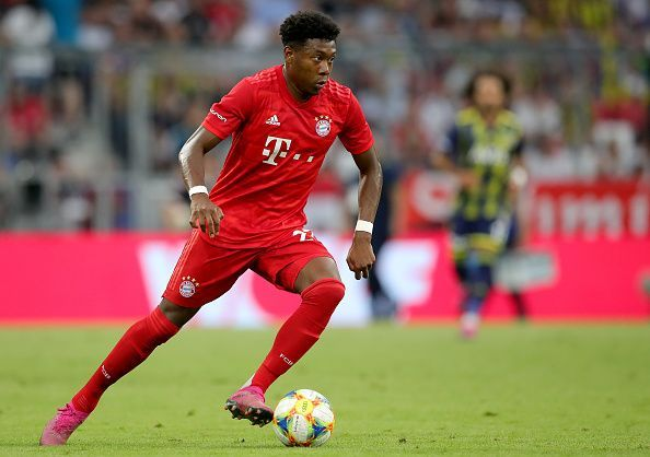 Bayern handed David Alaba his first professional contract in 2010