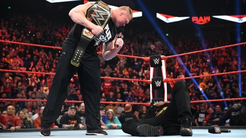 Brock Lesnar made short work of R-Truth on WWE RAW