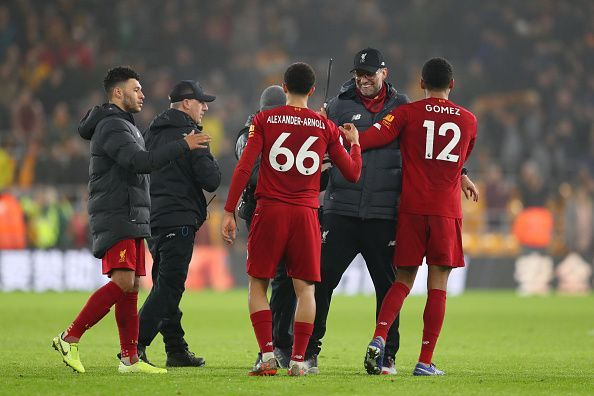 Liverpool have won 22 of their opening 23 Premier League matches