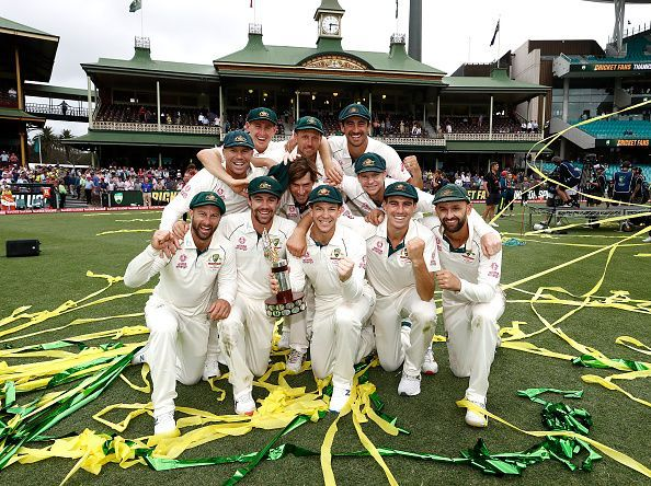 Australia completed a 3-0 demolition of New Zealand by winning the SCG Test by 279 runs.