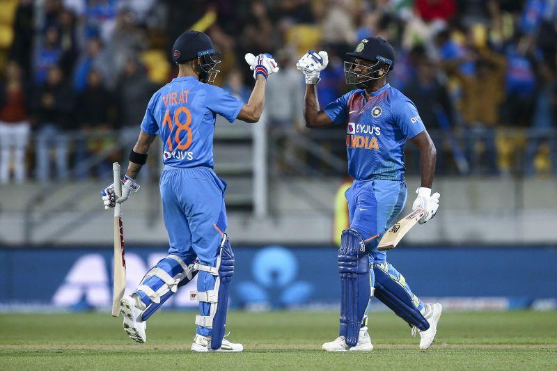 Virat Kohli and Sanju Samson