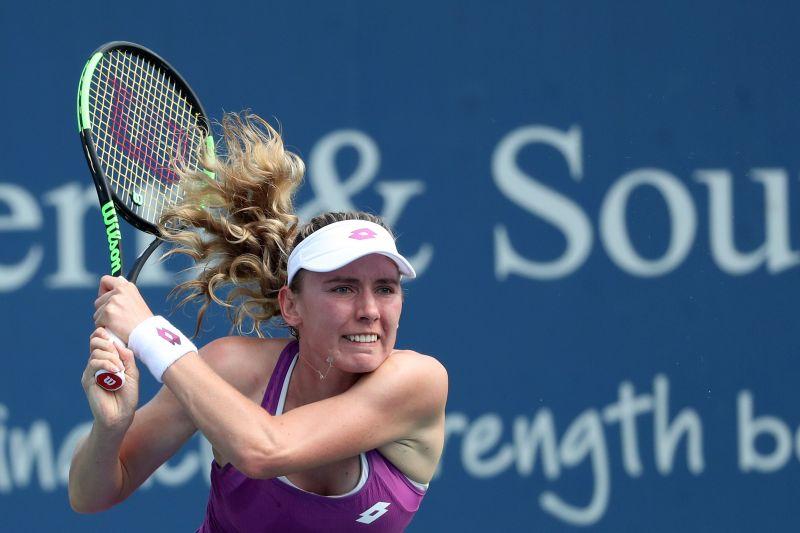 Ekaterina Alexandrova was no match to Kvitova in the duo