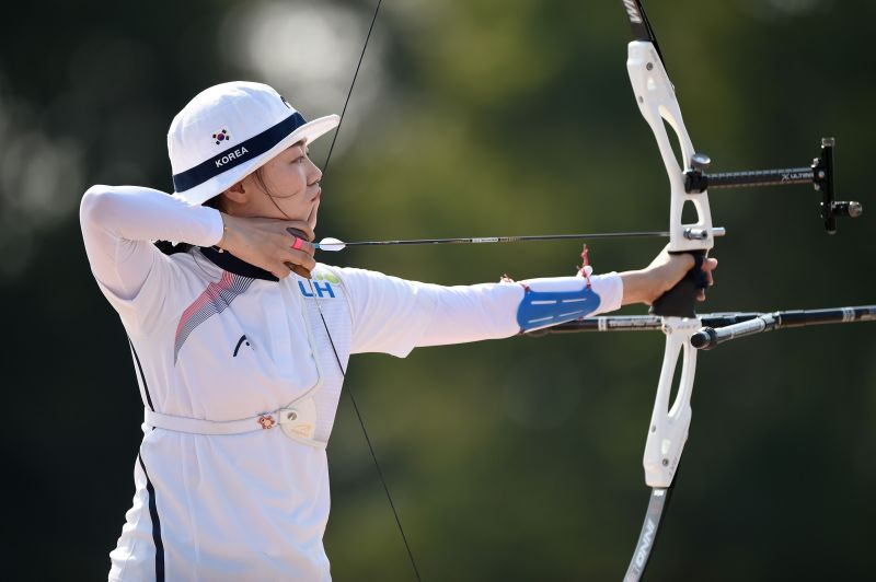 Two-time Olympic champion- Chang Hye-Jin