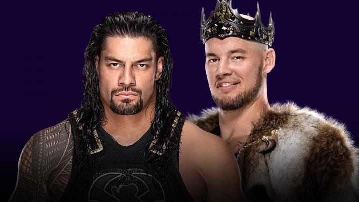 King Corbin vs Roman Reigns