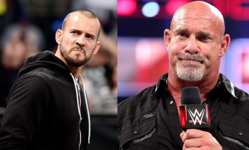 CM Punk and Goldberg