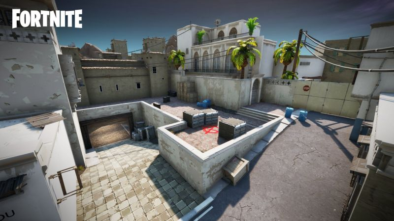 Dust II map recreation Picture Courtesy: Epic Games/Team Evolve