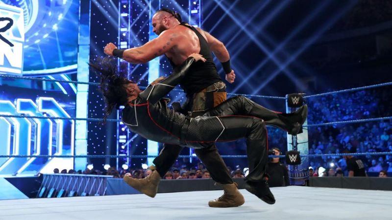 Braun Strowman finally got his Intercontinental Championship match against Shinsuke Nakamura