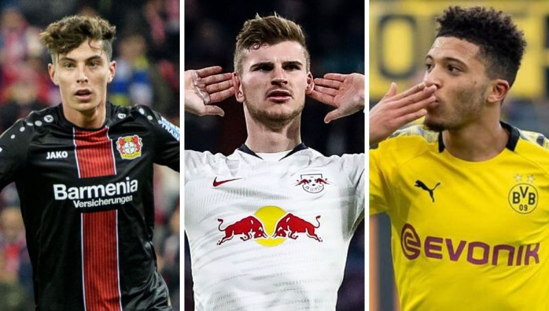 Kai Havertz, Timo Werner and Jadon Sancho all feature in this list