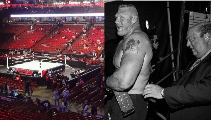 Lesnar and Heyman