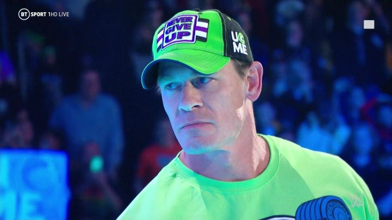 John Cena rarely wrestles anymore.