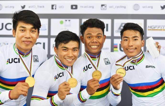 The Indian cyclists that made the cut for the World Track Cycling Championship