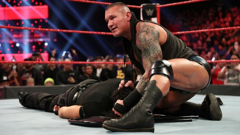 Matt Hardy encountered Randy Orton in what could be Hardy