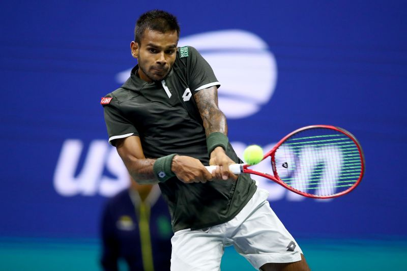 The 21-year-old Sumit Nagal made an impression against Roger Federer at the 2019 US Open.