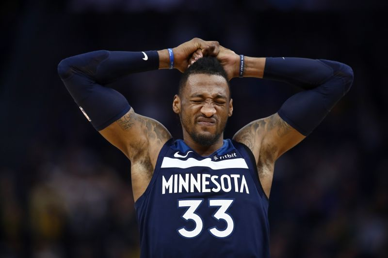 Robert Covington is averaging nearly 13 points and 6 rebounds this season