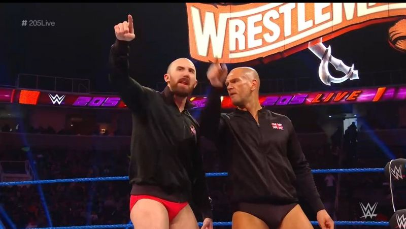 One Two are back on 205 Live!