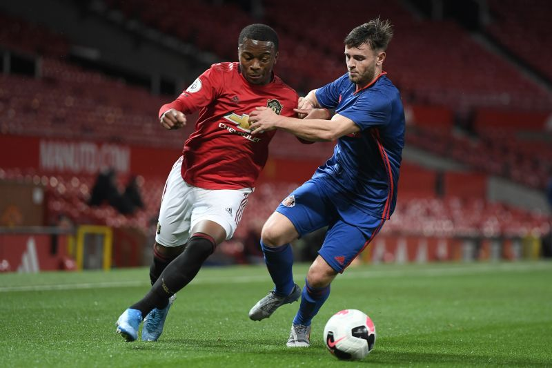 Another up and coming Manchester United full-back