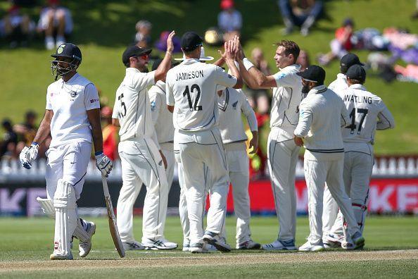 न्यूजीलैंड की एकतरफा जीत