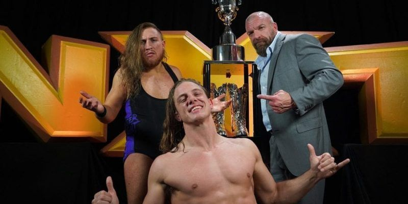 Matt Riddle and Pete Dunne won the Dusty Rhodes Tag Classic