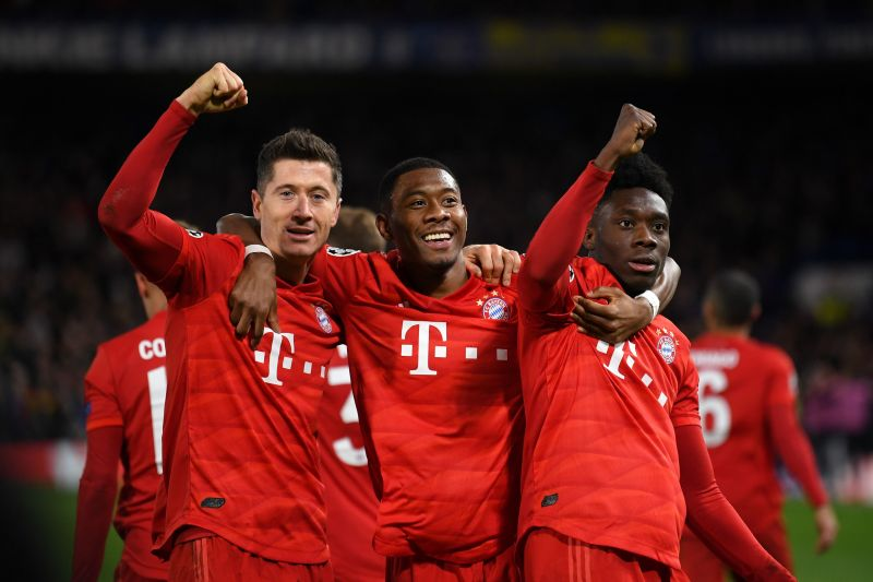 David Alaba has heaped praise on Robert Lewandowski