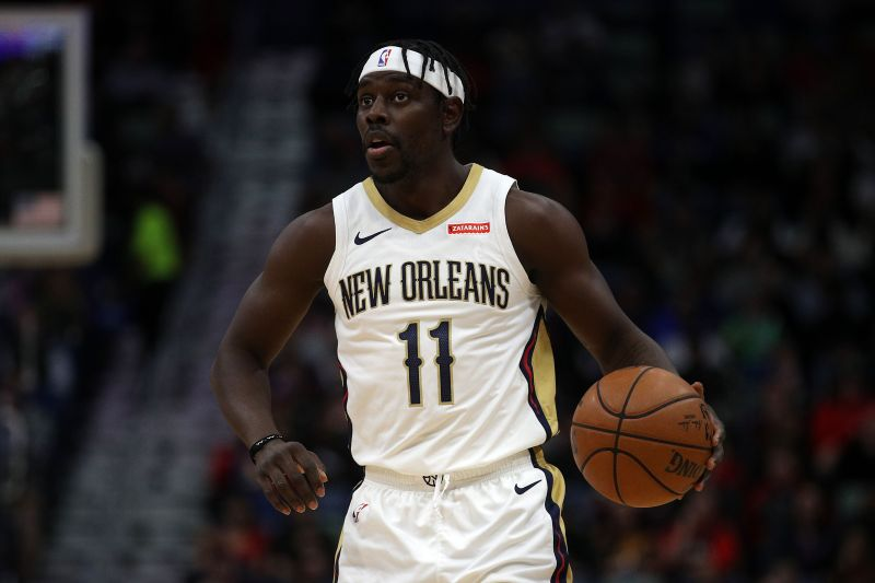 Jrue Holiday is believed to be a trade target for the Nuggets