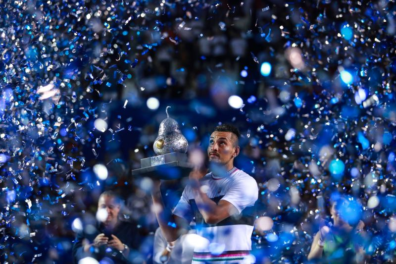 Kyrgios won two ATP 500 titles in 2019